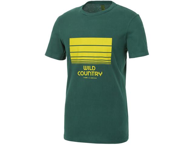 Wild Country Stamina T-shirt Homme, alloro mountain lines